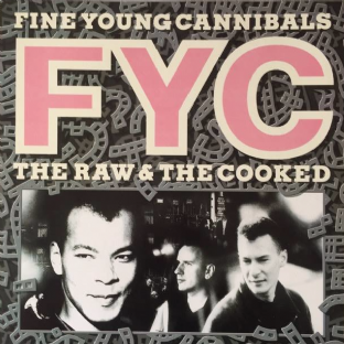 Fine Young Cannibals - The Raw & The Cooked (LP) (VG-/EX)